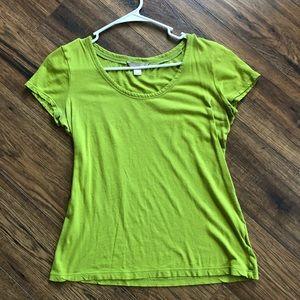 Banana Republic Green Shirt